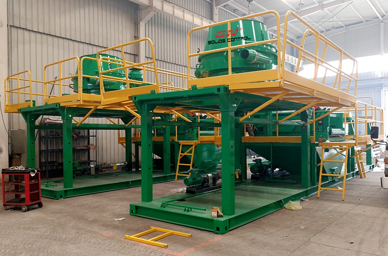 1-skid cuttings drying system