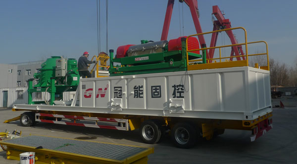 Trailer-Mounted-Drilling-Waste-Management-System